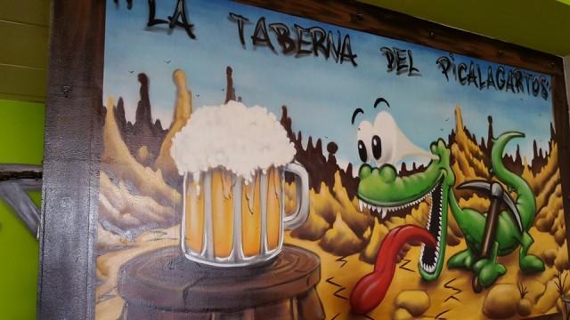 La taberna del Picalagartos: ir de tapas y raciones por mostoles, raciones economicas mostoles