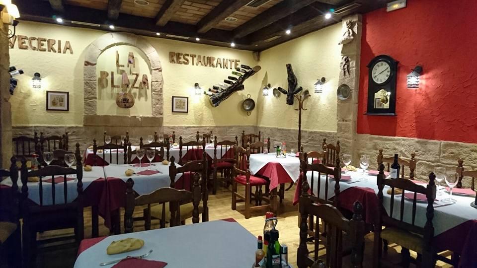 Restaurante La Plaza: horno de leña en mostoles, asador en mostoles