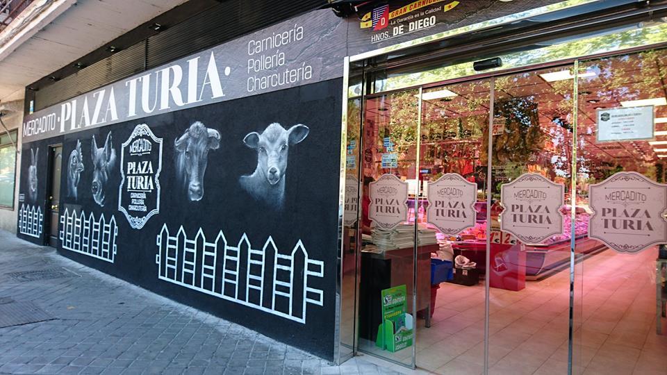 Mercadito Plaza Turia: Carniceria economica mostoles, polleria economica mostoles