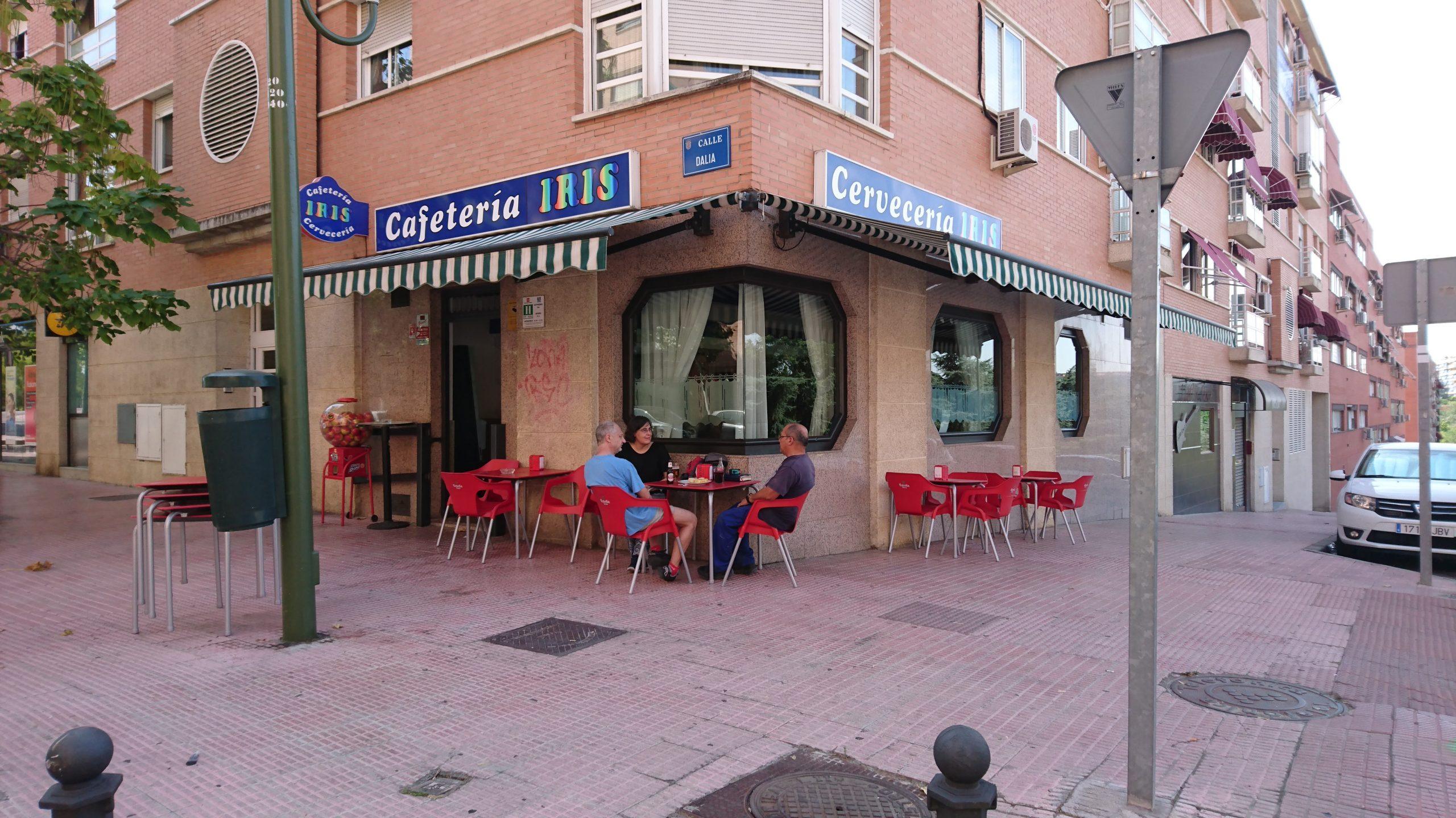 Bar cafetería Iris: comida latina en mostoles,cocina española en mostoles