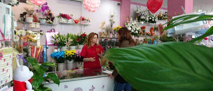 entrevista y reportaje a Flores eden mostoles