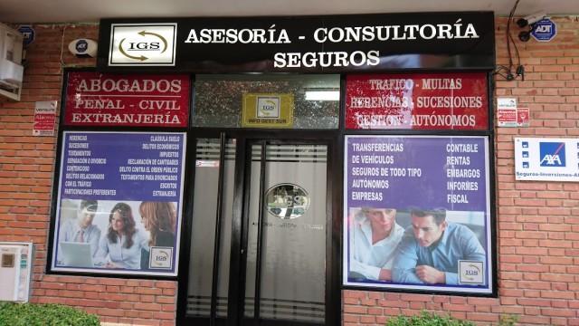 Gestoria IGS, Asesoria y gestoria en mostoles, seguros en mostoles, abogados en mostoles