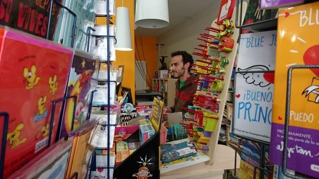 Reportaje y entrevista exclusivos a Librería Andrómeda en Móstoles