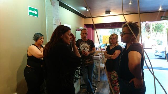 Entrevista y reportaje sobre el Salón de Belleza Orquídea en Móstoles
