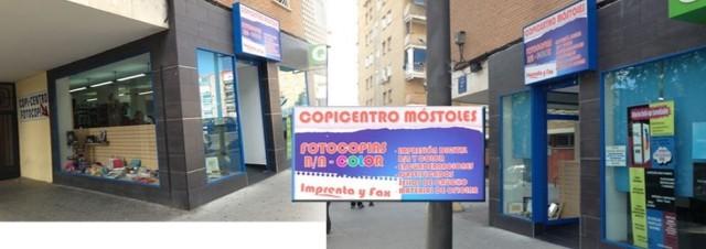Copicentro mostoles: copisteria economica en zona sur
