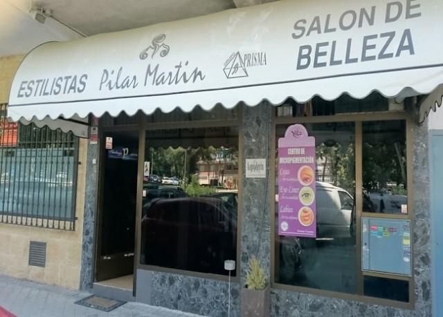 Salón de belleza Pilar Martín ,estilistas en mostoles, peluqueria y estetica unisex mostoles