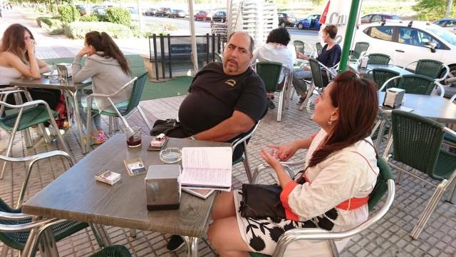 Entrevista y reportaje en tendencias al Restaurante La Ribereña en Móstoles