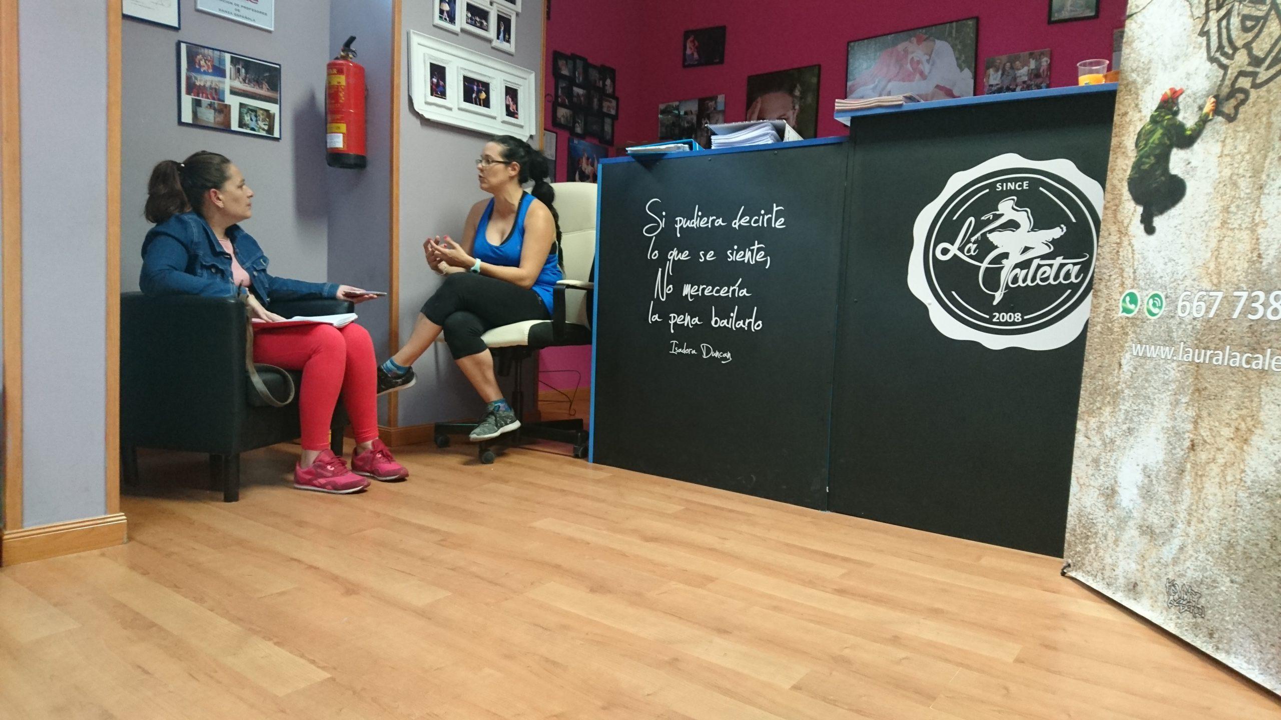Reportaje y entrevista a la Escuela de Danza Laura la Caleta Móstoles en su 10º Aniversario