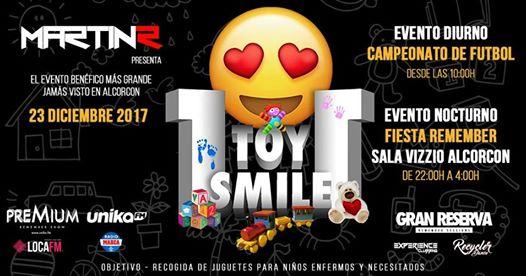 Evento solidario 1 toy 1 smile