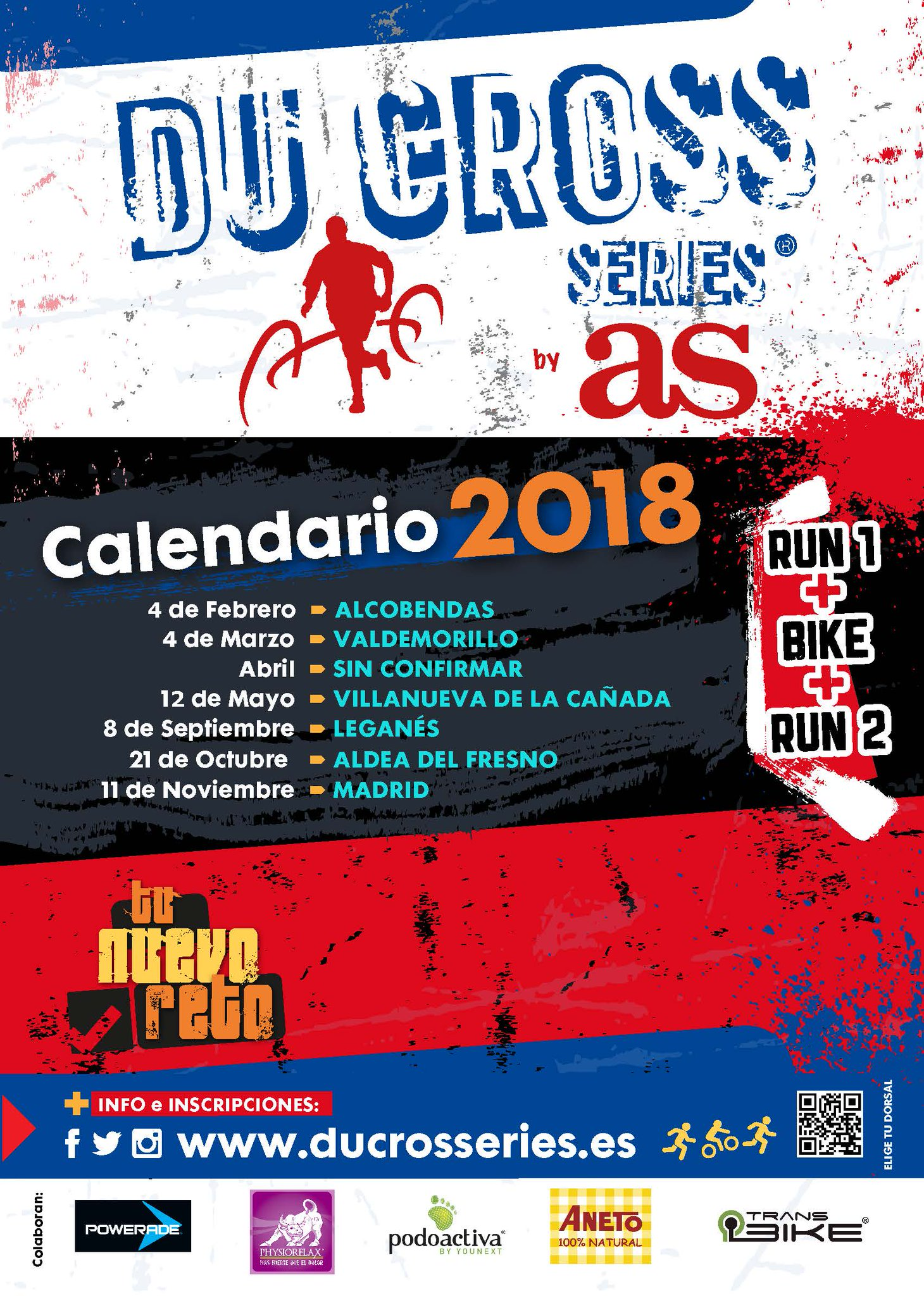 Ya está aquí el calendario de Du Cross Series 2018