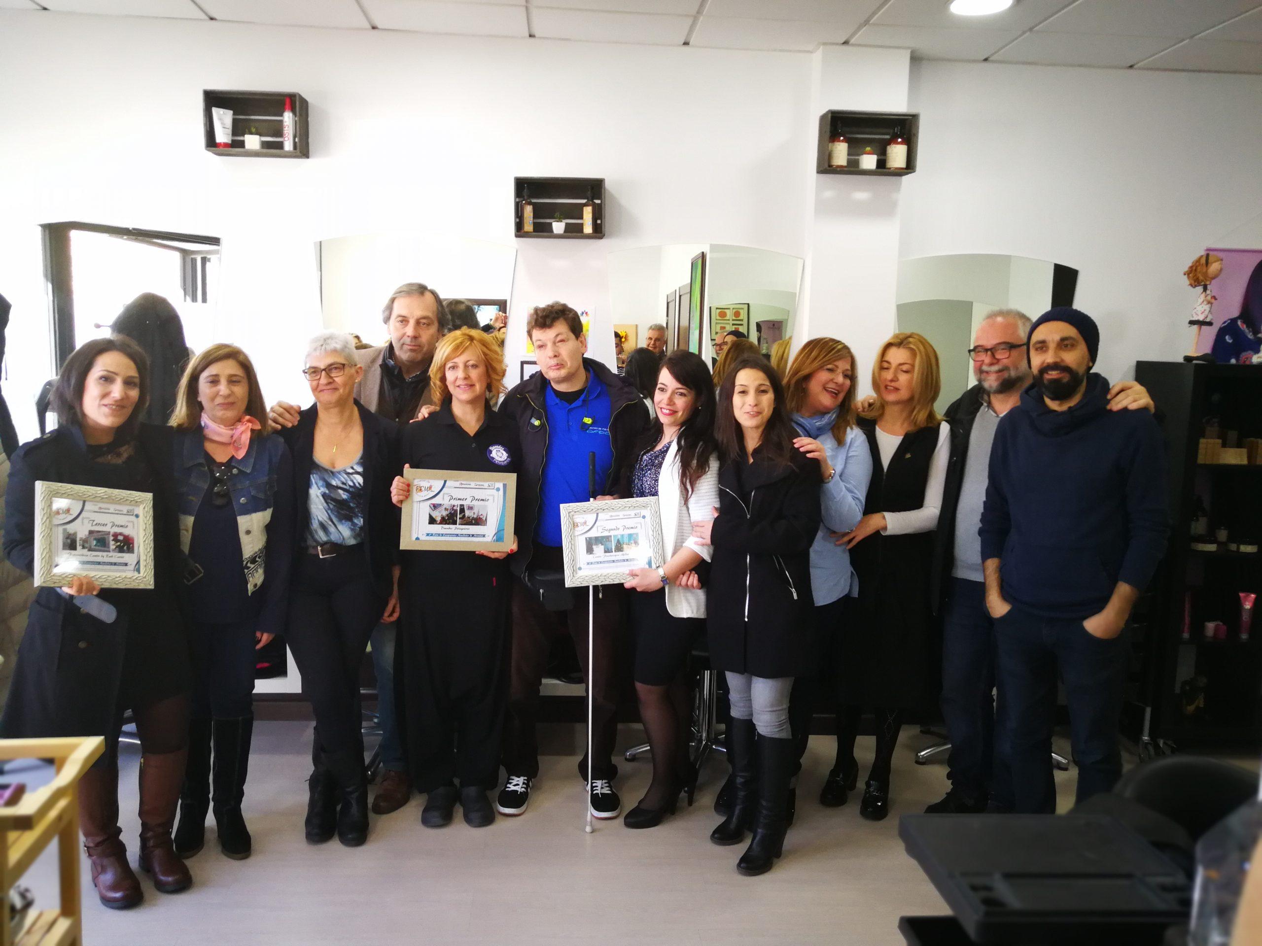 Se entregan los premios de la VI Ruta de Escaparates Navideños de Móstoles