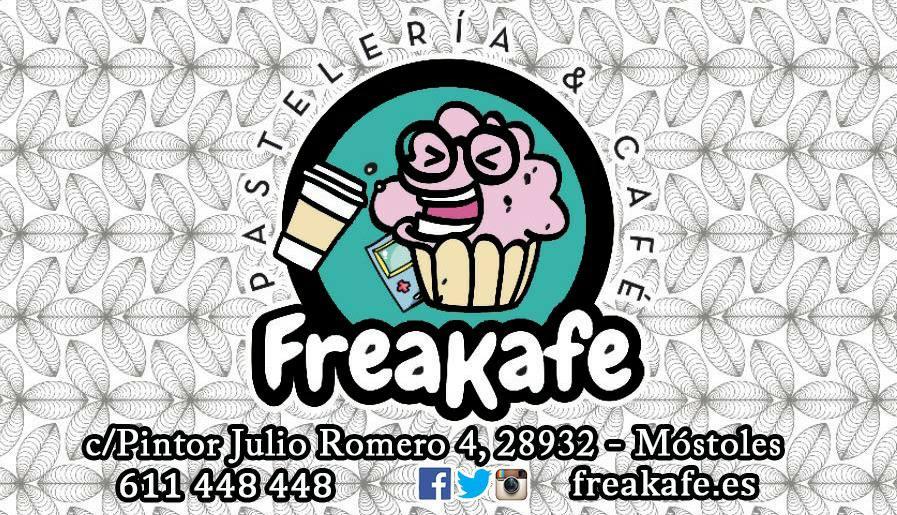 Freakafe:cafetería temática, repostería creativa y organizacion de eventos en Móstoles