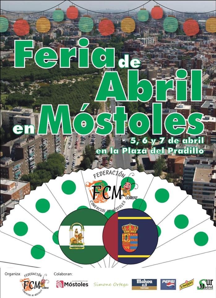 Primera Feria de Abril en Móstoles
