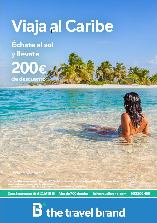 Oferta en viajes al Caribe