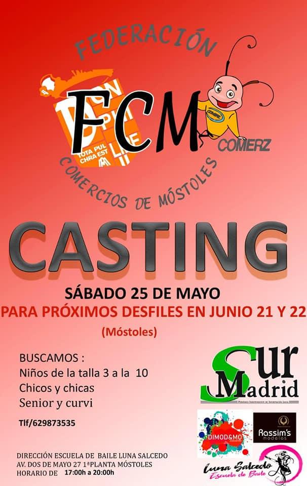 CASTING PARA EL FASHION DAY EN MOSTOLES