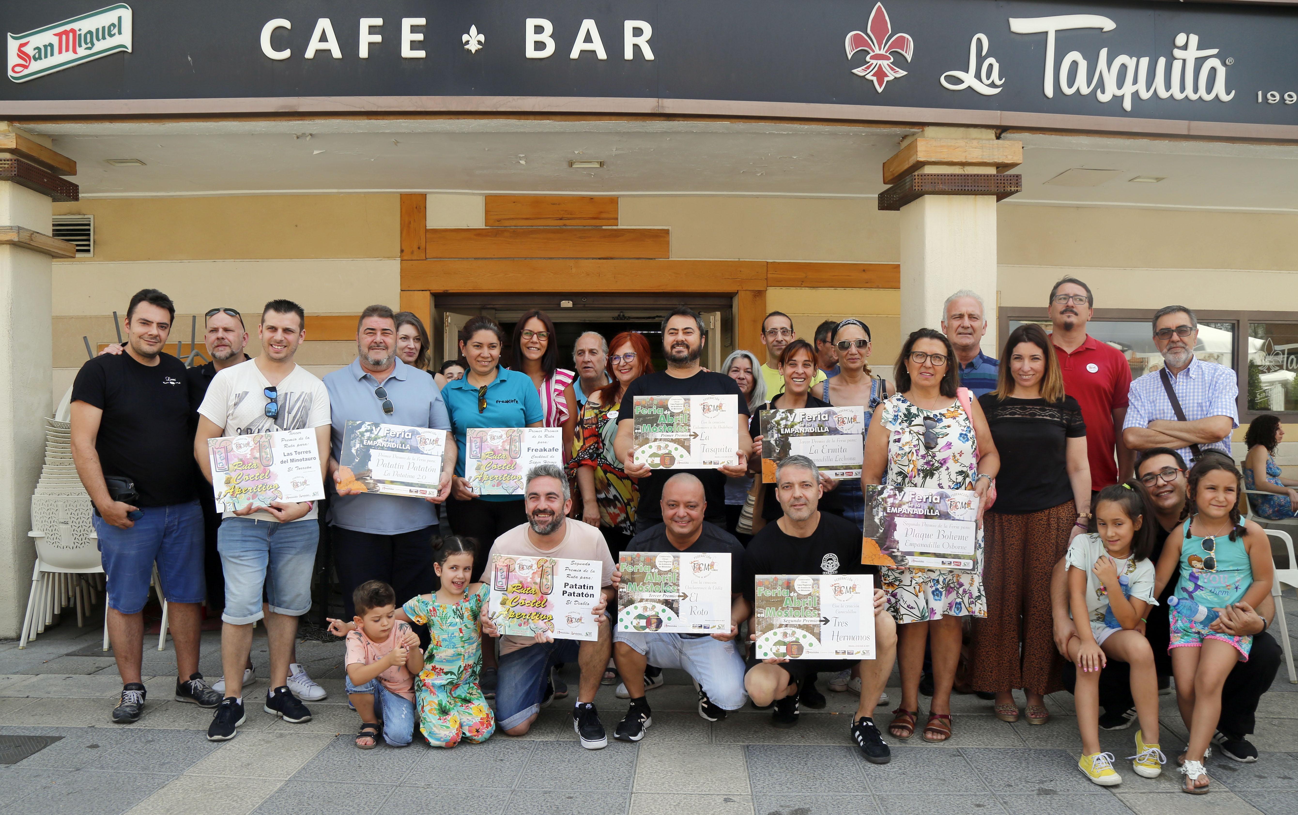 Mostoles Negocios acude a la entrega de Premios de la V Feria de la Empanadilla, I Ruta del Cóctel y I Feria de Abril en Móstoles