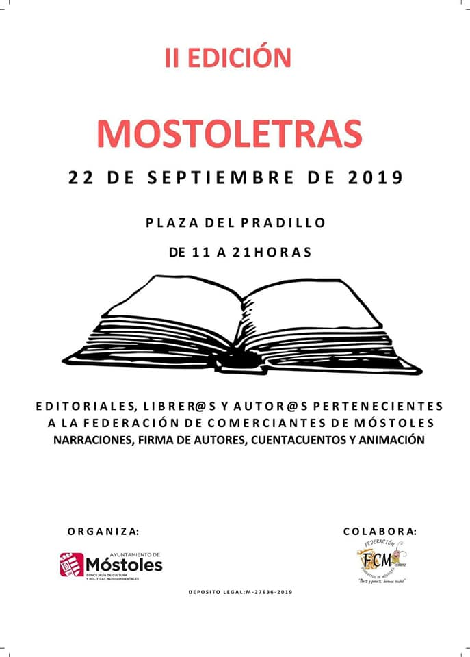 Expocultura y Mostoletras en la Plaza del Pradillo