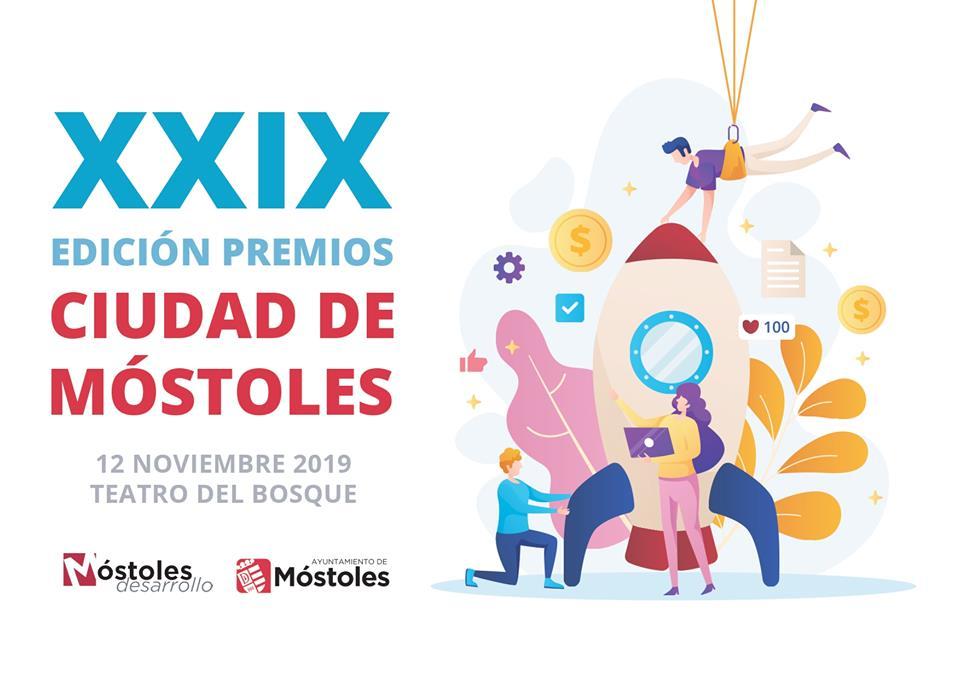 Móstoles premia a emprendedores de ciudad en los XXIX Premios Ciudad de Móstoles