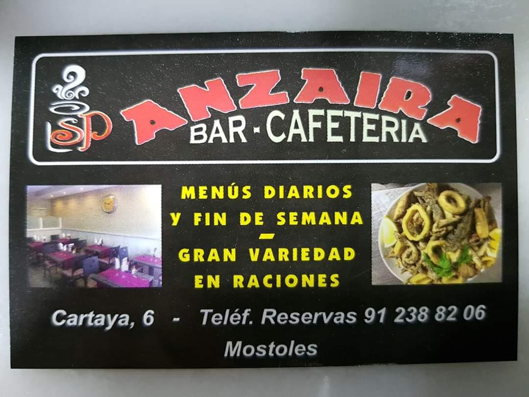 Bar-cafetería Anzaira, comer bien y abundante en Móstoles