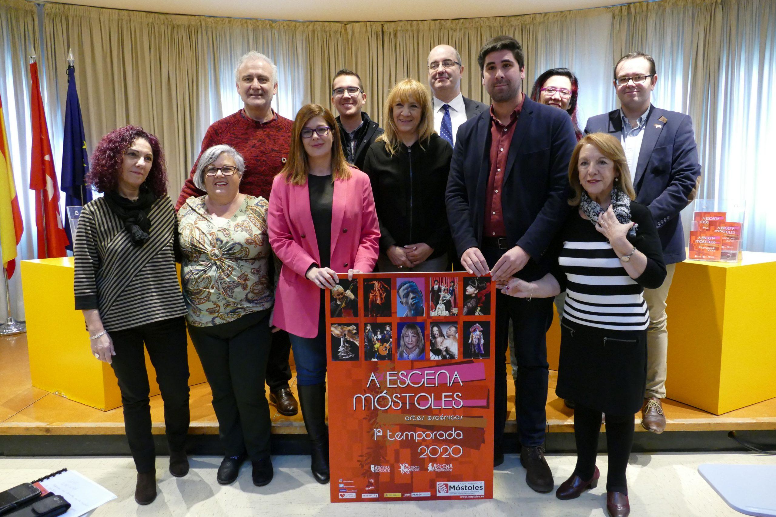Blanca Portillo elogia la programación teatral de Móstoles en la presentación de 'A Escena 2020