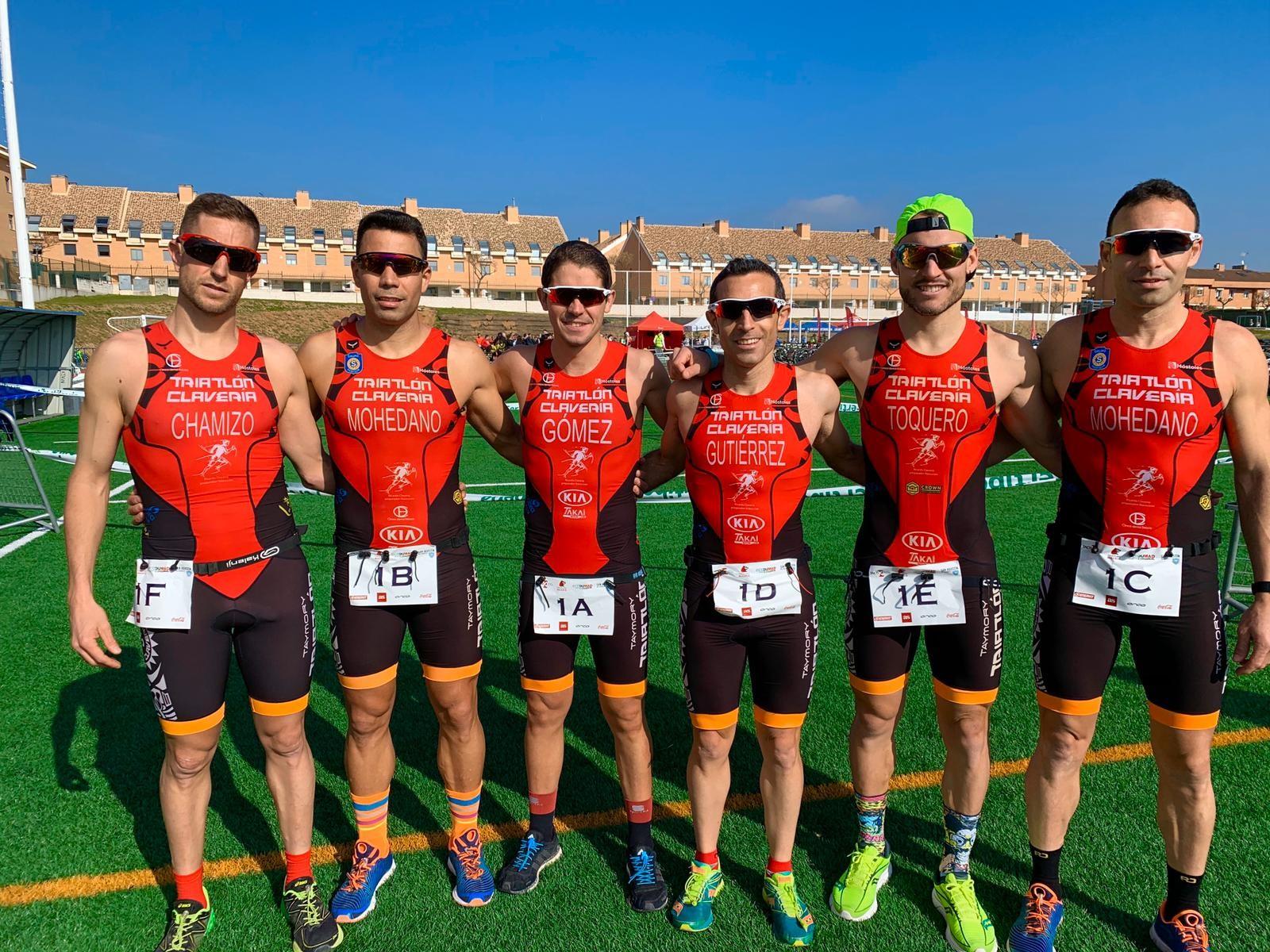 Gran participación de atletas del Club Triatlón TriInfinity Móstoles en el Campeonato ECODUMAD