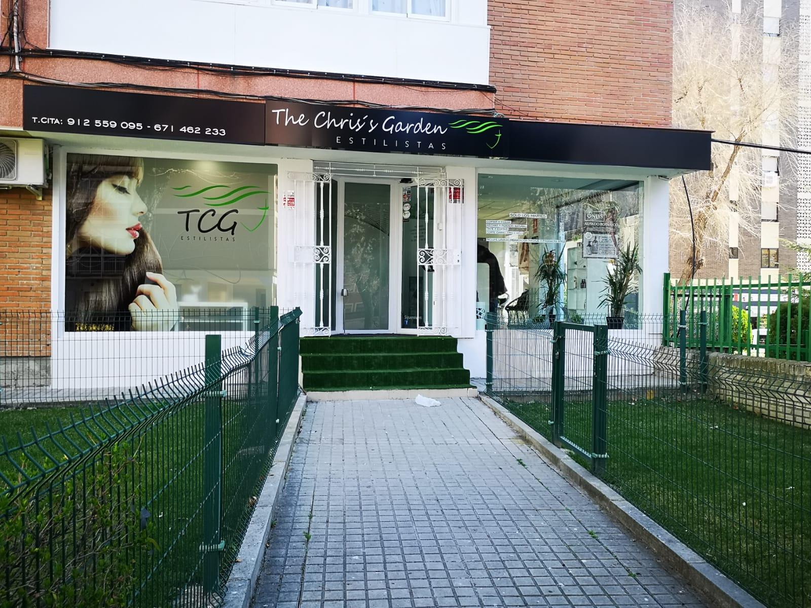 The Chris's Garden salón de belleza unisex con tratamientos organicos en mostoles