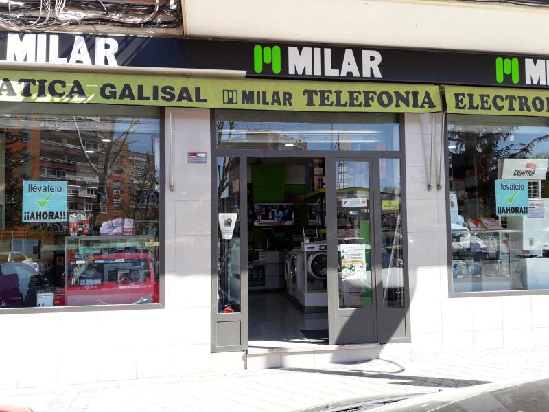 MILAR GALISAL, TIENDA DE ELECTRODOMÉSTICOS Y PRODUCTOS DE ELECTRONICA EN MOSTOLES