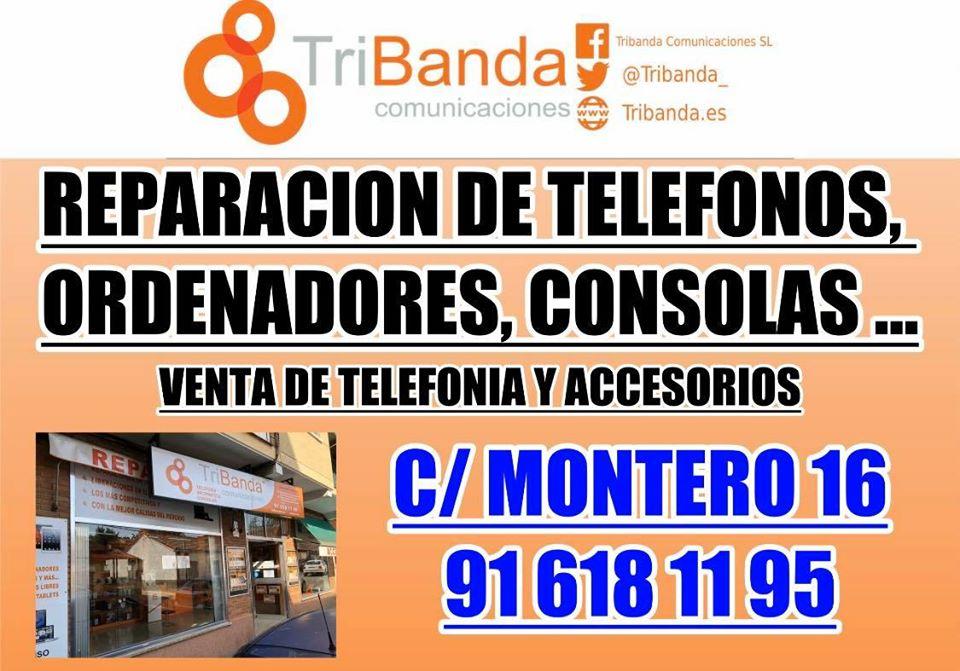 Tribanda comunicaciones, tu tienda de telefonia y telecomunicaciones en Móstoles