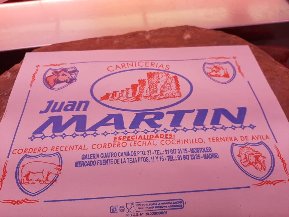 carnicería Juan Martín: reparto a domicilio carnes en mostoles