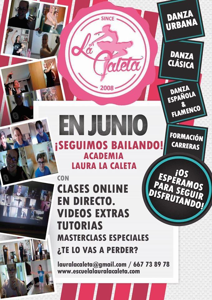 Entrevista a la Escuela de Baile Laura la Caleta desde el confinamiento
