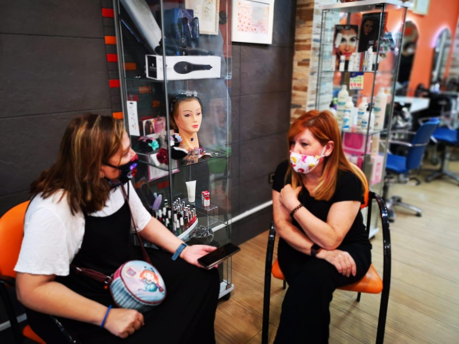 Entrevista y reportaje del salón de belleza Pilar Martín