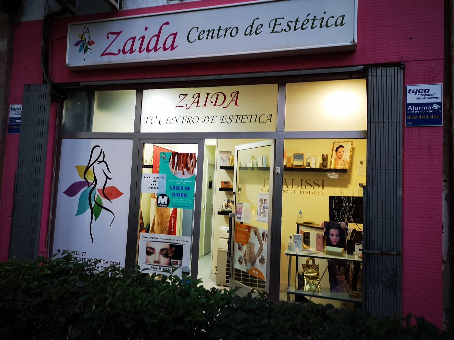 Código qr de Zaida Centro de Estética en Móstoles