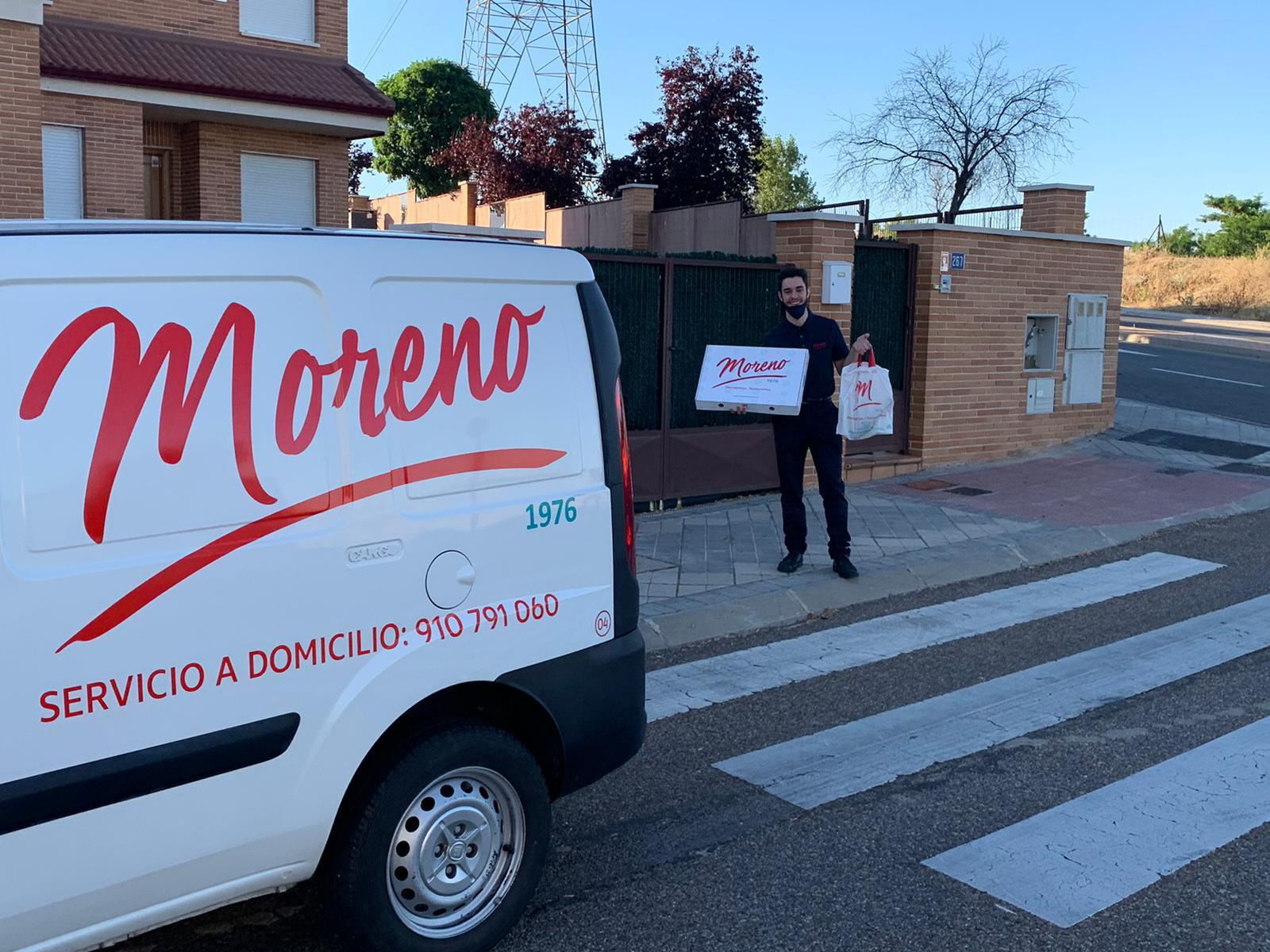 Marisquerías Moreno ahora mariscadas a domicilio