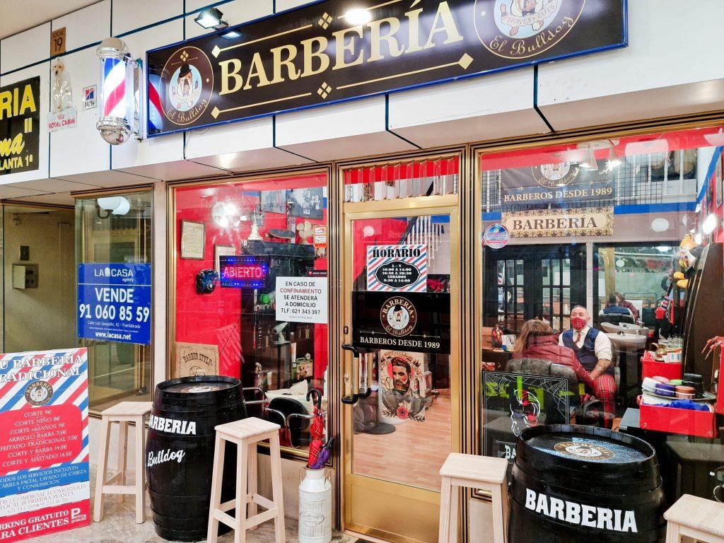 Entrevista y reportaje a Barbería El Bulldog en Móstoles