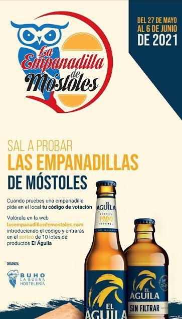 """Las famosas """"Empanadillas de Móstoles"""" ya están aquí."""