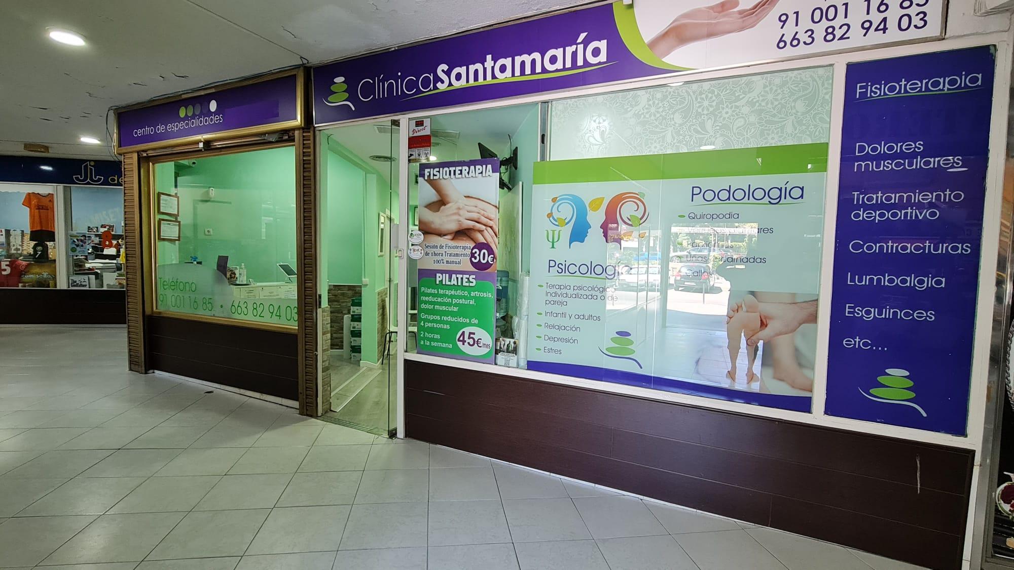 Entrevista y reportaje a Fisioterapia Santamaría en Móstoles