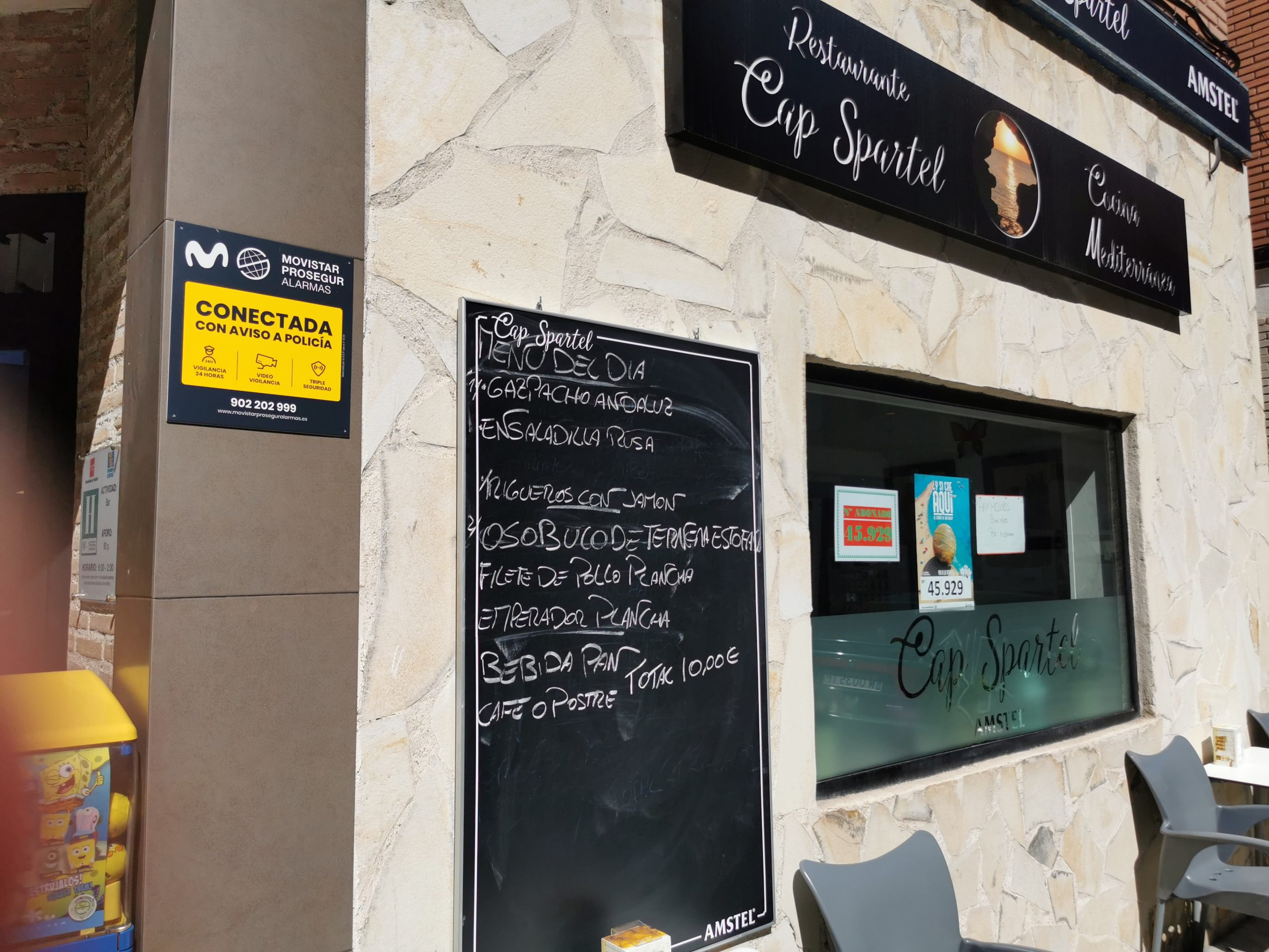 Bar restaurante Cap Spartel, cocina tradicional en Móstoles, comida árabe por encargo en Móstoles